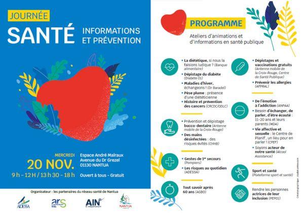 Journée dédiée à la santé à Nantua