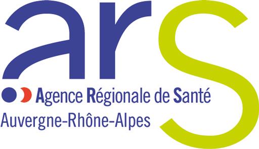 Logo de l'Agence Régionale de Santé Auvergne Rhône-Alpes