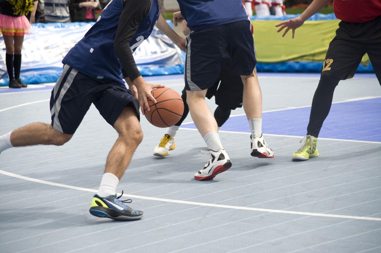 Match de basketball – Ain Sport Santé