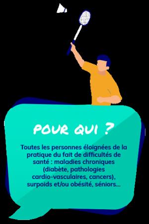 Ain Sport Santé : quelles sont les personnes ciblées ?